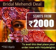 Bridal Mehandi Package-Holydelights