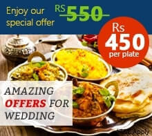 Wedding Catering Offers - Holydelights