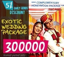 Exotic Wedding Deal From Holydelights.