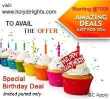 Birthday offers - Kids to Teenage